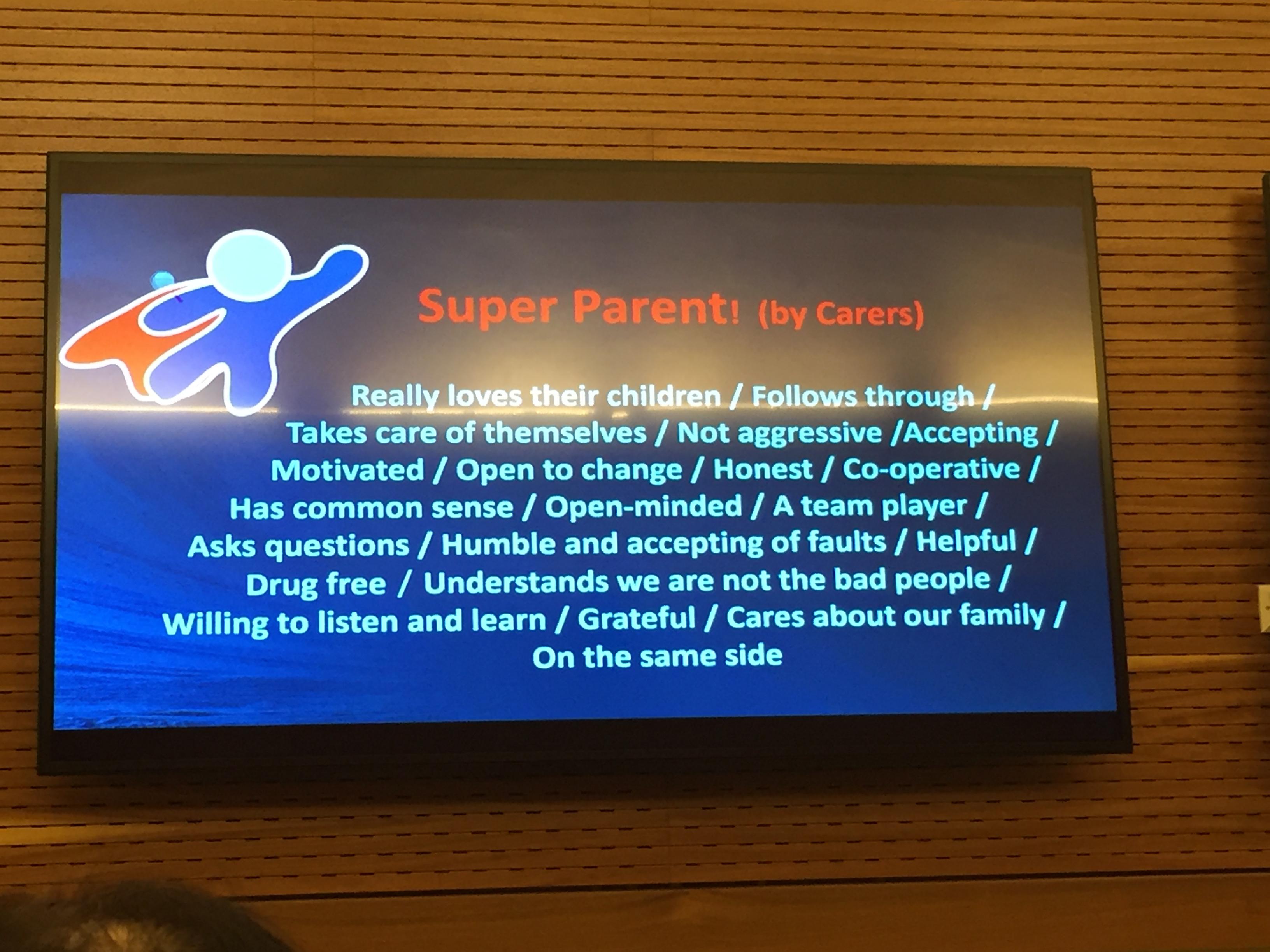 Föreläsning om samarbete mellan familjehem och föräldrar
