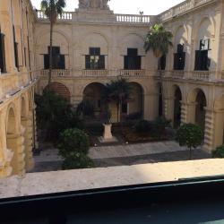 Presidentens palats där konferensen hölls